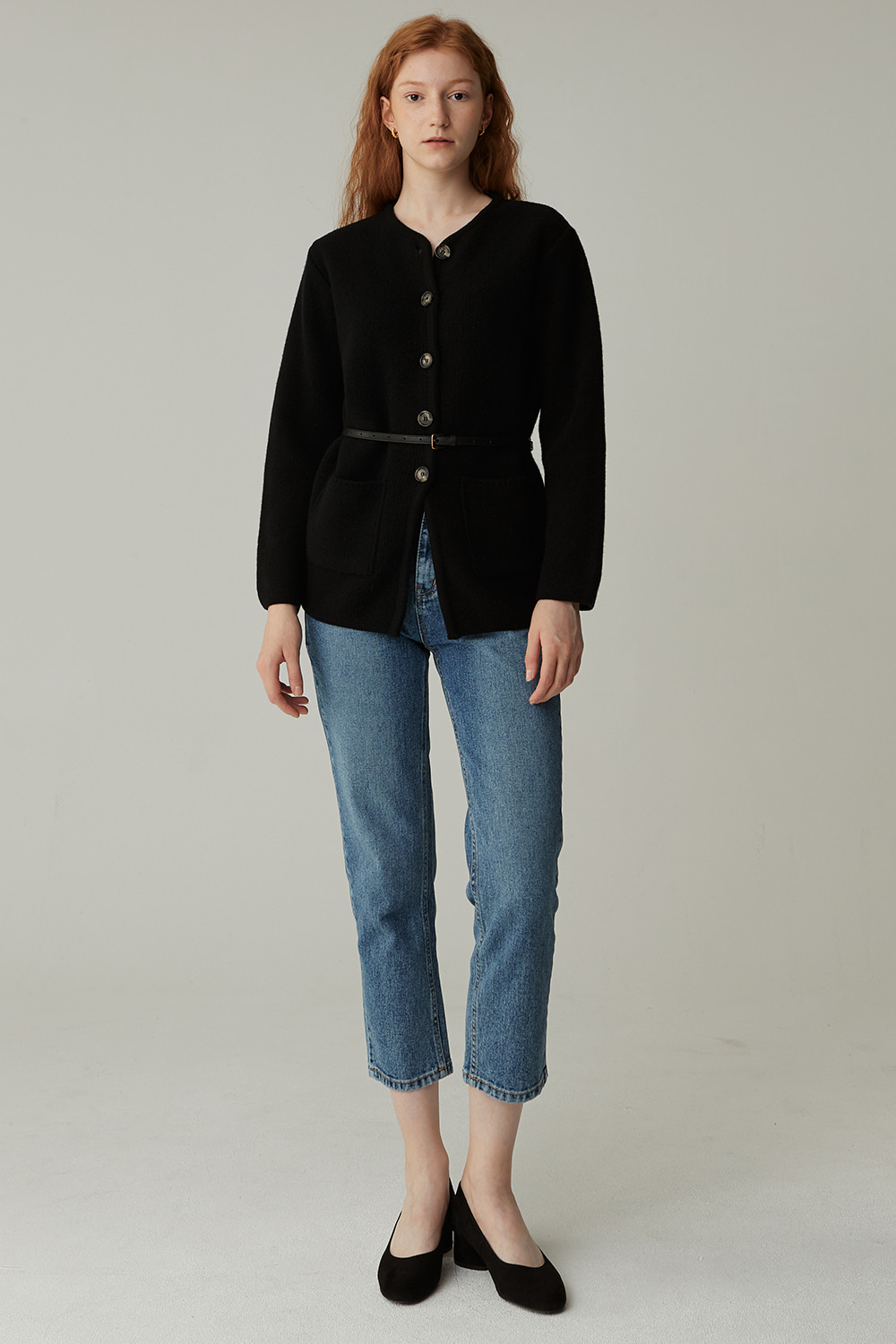 RE-ORDER / TURK WOOL JACKET (BLACK)